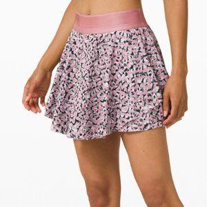 Lace Rose Mauve Court Rival Skirt Tall Lululemon 0